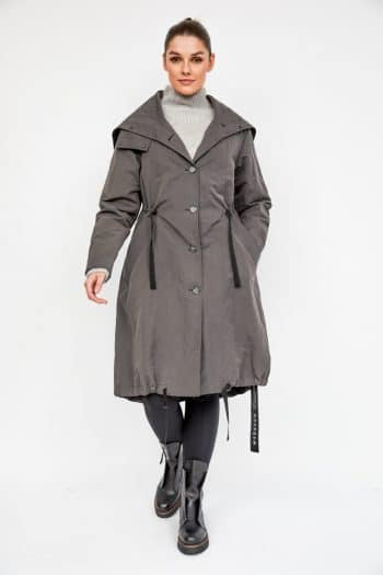 Annette Gortz Miara Coat with zip hood and removable liner