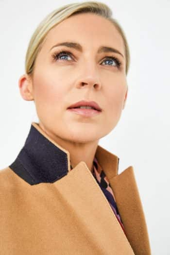 Cashmere Crombie Coat by Paul Smith