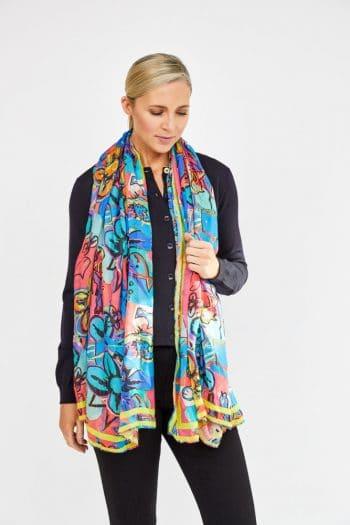 oversized scarf by paul smith